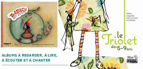 Le Triolet (des petits & des 5-9 ans) - album à regarder, à lire, à écouter & à chanter @reseau_canope | Teaching FRENCH | Scoop.it