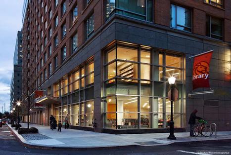 UrbA // ActU: Une nouvelle bibliothèque publique à New-York par 1100 Architect - Architecture | Bibliothèques et innovations | Scoop.it