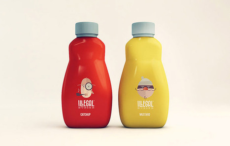 Illegal Burger packaging | We Like We Share | Graphisme et esthétisme | Scoop.it