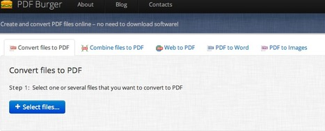 Online PDF Converter - PDFBurger | Into the Driver's Seat | Scoop.it
