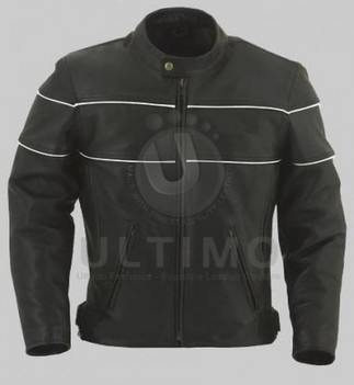 Black/White Bomber Jacket   You like leather jackets since nobody ignored it   Scoop.it