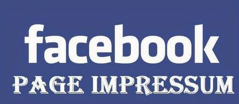 Impressum Facebook Page with Example Sample What is | Mobile Tips and Tricks | Scoop.it