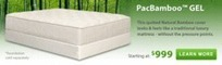 PacBamboo Gel Memory Foam Mattress | Mattresses | Scoop.it