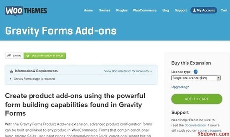 WooCommerce Gravity Forms Add-ons | Download Free Full Scripts | hgh | Scoop.it
