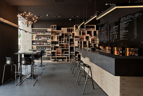 DiVino Wine Bar / Suto | Design d'espace | CRAW | Scoop.it