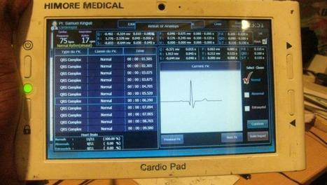 Le CardioPad, première tablette médicale africaine - RFI | Smartphones, tablettes et leurs utilisations | Scoop.it