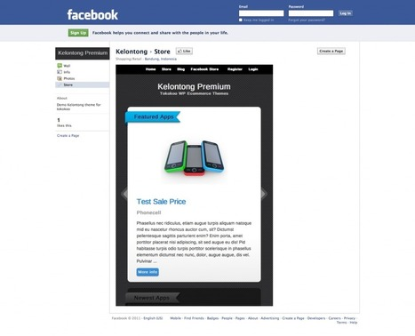 Facebook Meets WordPress E-Commerce | The Power of Social Commerce | Scoop.it