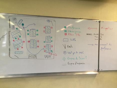 Exercice de cartographie de la salle 123 (Blog Histoire - Géo) | Géographie de l'espace scolaire, Géographie de l'école | Scoop.it