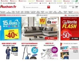 un large choix de codes de remises et bons de promotions du site de E-commerce Auchan | bon reduc | Scoop.it