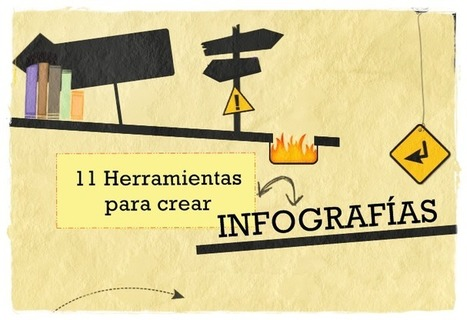 11 herramientas para crear  infografías | Herramientas digitales | Scoop.it