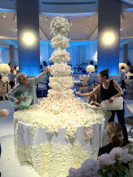 Masterpieces of Sylvia Weinstock ~ the Most Beautiful Wedding Cakes | bridal | Scoop.it