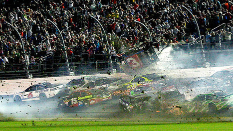 Car flies into fence in horrible NASCAR crash, driver stays alive (VIDEO) | THE  SPOT | Scoop.it