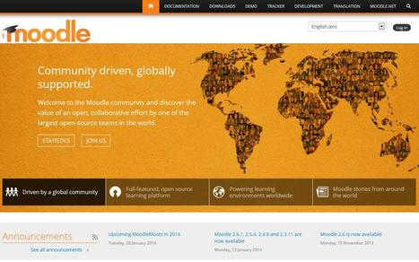 New Front page of Moodle.org | Moodle Best LMS | Scoop.it