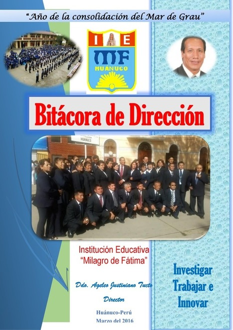 BITACORA DE DIRECCION 2016 MF.pdf | Biblioteca Virtual | Scoop.it