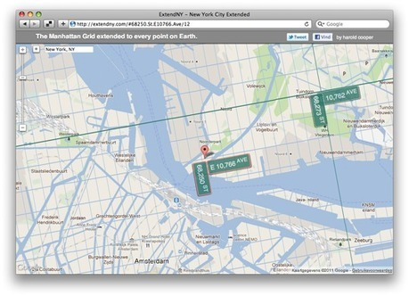 The World MANHATTANIZED: website allows visitors to find out for every geographical location  Read more: http://popupcity.net/2011/11/the-world-manhattanized/#ixzz1xOYvrPCV | The Architecture of the City | Scoop.it