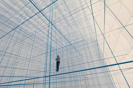"""Enter Another Dimension Inside This Incredible """"Social Sculpture"""" 