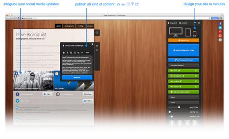 Create a beautiful website with Pixelhub's drag 'n drop site builder. It's easy, instant and free!   Identidad digital   Scoop.it