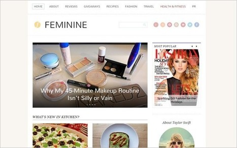 Feminine - A WordPress Theme With Feminine Touch by Magazine3 - WP Daily Theme | Free & Premium WordPress Themes | Scoop.it