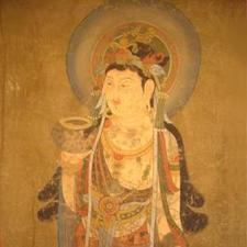 Chinese Bodhisattva scroll painting | Useful Information | Scoop.it