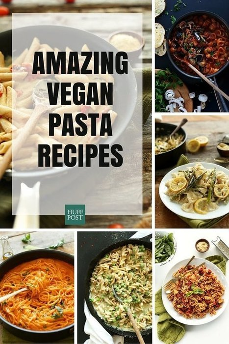 Vegan Pasta Recipes That Prove You Don't Need The Cheese | My Vegan recipes | Scoop.it