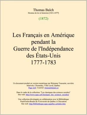 Les Français en Amérique pendant la Guerre de l'Indépendance des États-Unis (1777-1783) | Univsersité du Québec à Chicoutimi (UQAC) | Nos Racines | Scoop.it
