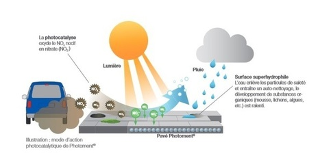 Des trottoirs contre la pollution | D'Dline 2020, vecteur du bâtiment durable | Scoop.it
