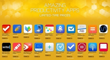 20 productivity apps are currently on sale in the App Store for a limited time - iMore | Physical Education - The Nutrition Component | Scoop.it