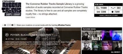 Converse Rubber Tracks: oltre 11mila file musicali gratis   my blog   Scoop.it