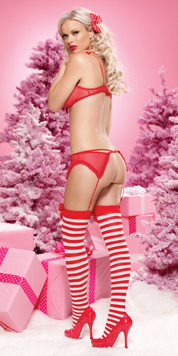 Sexy Polka Dot Christmas Set –SexyLingeriesDeal.com | Christmas Costumes | Scoop.it