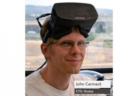 John Carmack au centre de la rivalité entre id Software et Oculus VR | 100% e-Media | Scoop.it