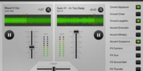 Turn iPad Into A Portable Studio With New App Spreaker DJ | Technology and Education Resources | Scoop.it