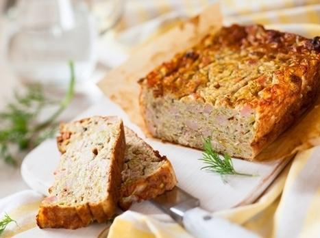 Cake sans gluten au jambon | Recettes Mieux Vivre par Auchan | Scoop.it