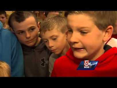 Band of brothers rally around boy, 6, to stop teas | Baseball | Scoop.it