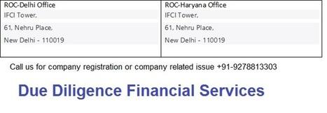 company registration office in delhi | Due Diligence Financial Services | Company Registration in Delhi | Scoop.it