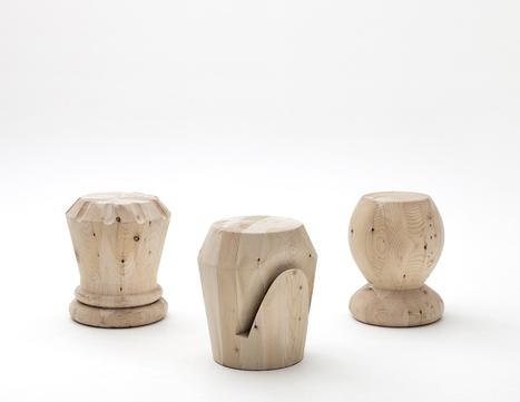 giorgio bonaguro designs chess stools for icons furniture | House Decorating | Scoop.it