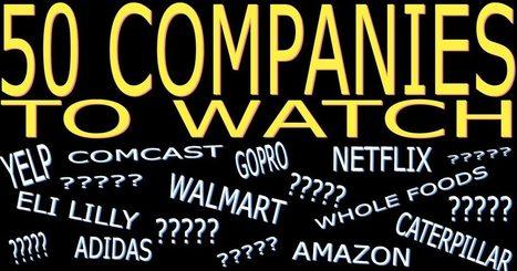50 Companies to Watch in 2017 | itsyourbiz | Scoop.it