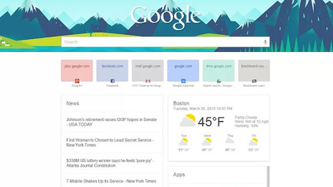 Bring a Google Now-Style Home Page to Chrome | BestChromeExtensions | Scoop.it