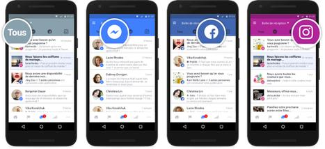 Facebook : une interface unifiée pour gérer les messages et commentaires Messenger, Facebook et Instagram - Blog du Modérateur | Smartphones et réseaux sociaux | Scoop.it