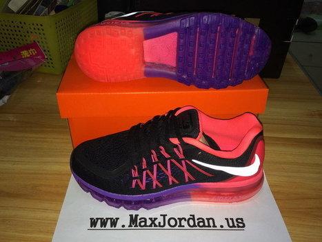 Women Air Max 2015 Black Pink Purple Sneaker,Discount women nike air max 2015 black pink purple sneaker sale | nike sneaker store | Scoop.it