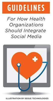 Guidelines for How Health Organizations Should Integrate Social Media | mHealth: Patient Centered Care-Clinical Tools-Targeting Chronic Diseases | Scoop.it