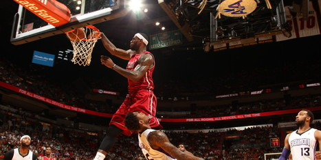 WATCH: LeBron Dunked So Hard On Rookie He Felt Bad About It | Be cool | Scoop.it