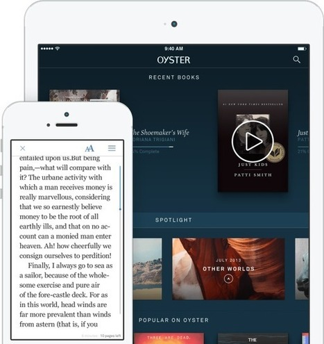 Oyster Raises $14 Million To Build A Comprehensive Netflix For Books | Book Publishing Trends | Scoop.it