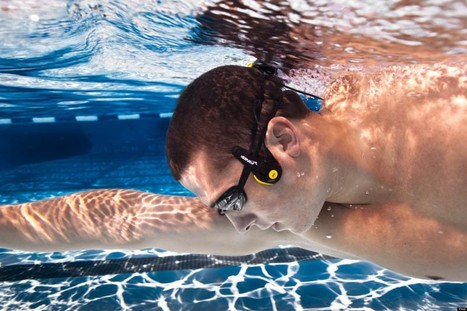 Underwater Headphones Transmit Sound Through Your Cheekbones (VIDEO) - Huffington Post UK | ScubaObsessed | Scoop.it