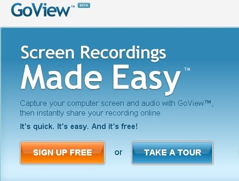 20 Free Screen Recording Tools For Creating Tutorials and Presentations | Design Inspiration-Resources for Design and Development | Quality Through-ICT | Scoop.it