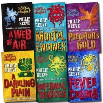 mortal engines collection, the mortal engines, mortal engine, Philip Reeve, childrens books | Books | Scoop.it