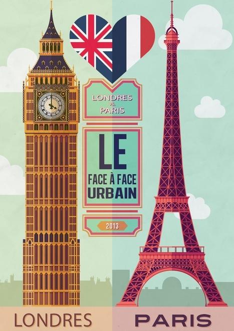 Face à face urbain Londres vs Paris - Paris, Maman & Moi... | FLE: CULTURE ET CIVILISATION-DIDACTIQUE | Scoop.it