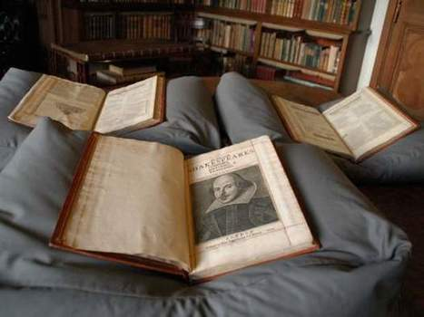 'Finding it…is almost crazy': 393-year-old Shakespeare First Folio found on tourist attraction's shelf | World Events and Interesting Articles | Scoop.it