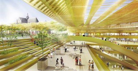 Vinci récupère le chantier de la Canopée – Metro | Projet les Halles | Scoop.it