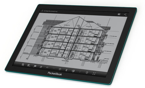 13.3″ PocketBook CAD Reader Features a Lighter, Thinner E-Ink Fina Display | Embedded Systems News | Scoop.it