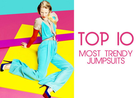 Top 10 Most Trendy Jumpsuits - TopYaps | Top 10 of Everything | Scoop.it